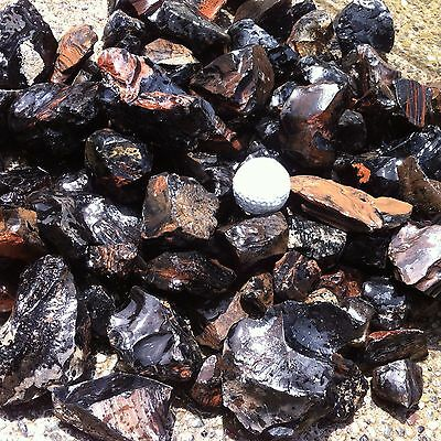 Obsidian - 20 Pounds - Gold-Sheen, Pewter, Flame & Lace