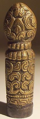 Superb Antique Chinese Solid Bronze Seal. Circa 18th Century or Earlier.