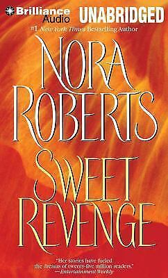 SWEET REVENGE unabridged audio book on CD by NORA ROBERTS - Brand New 14 Hours