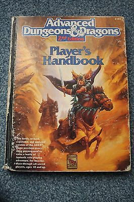 Advanced Dungeons and Dragons 2nd edition Player's Handbook