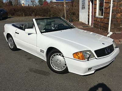 1990 Mercedes-Benz 500-Series  NO RESERVE NR 1990 MERCEDES BENZ SL500 ROADSTER CONVERTIBLE RUNS GREAT CLEAN