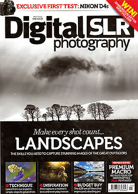 Digital SLR Photography magazine. May 2014. Improve your skills.