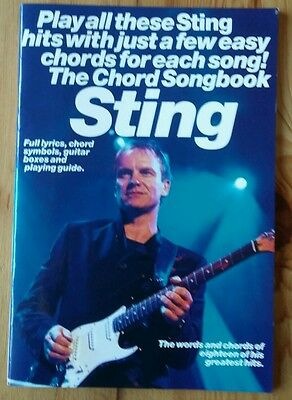 The Chord Songbook Sting.
