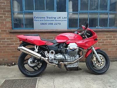 Moto Guzzi 1100 Sport Carb model in Red 1996 in great condition