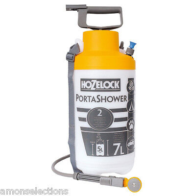 Hozelock Portable Shower For Camping Dog Washing Gardening & Other Outdoor Needs