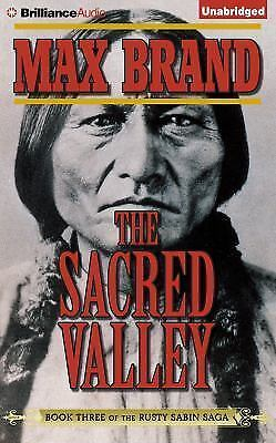 THE SACRED VALLEY unabridged audio book on CD by MAX BRAND