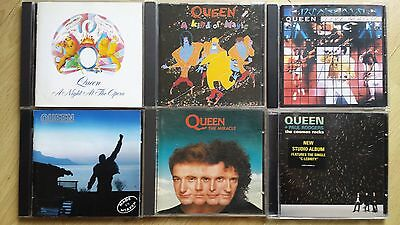 QUEEN  + PAUL RODGERS - 6 cds listed (CD to 1993 to 2000)