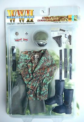 1/6 WWII Dragon Action Figure German SS Officer Camouflage smock set 1 71106