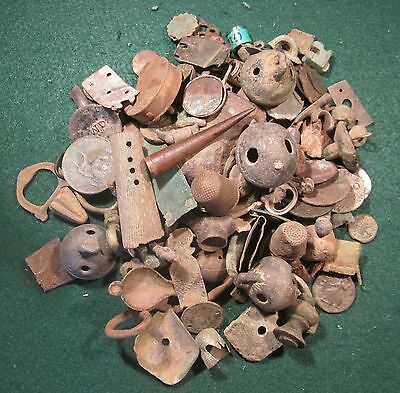 1 kg of Metal detecting finds