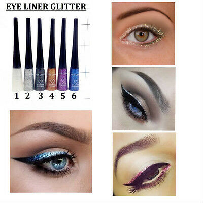 Eye Liner Pinceau Souple Concentre De Paillette Couleur Neuf Mac019