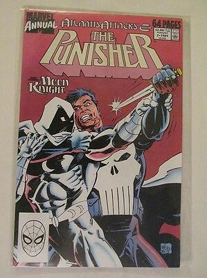MARVEL COMICS - THE PUNISHER ANNUAL - No.2 - 1989.