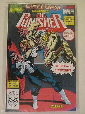 MARVEL COMICS - THE PUNISHER ANNUAL - No.3 - 1990.