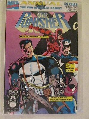 MARVEL COMICS - THE PUNISHER ANNUAL - No.4 - 1991.