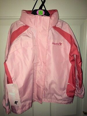 Girls Regatta Waterproof Jacket Age 3-4 NEW With Tag