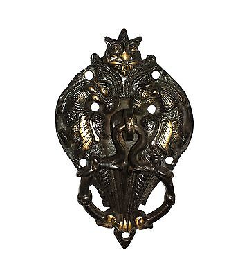 An attractive Brass Made TWO PARROTS design DOOR KNOCKER from India