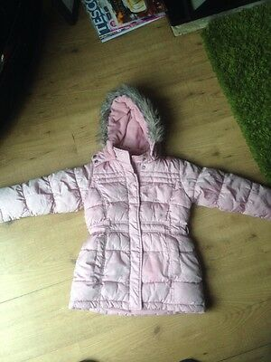 Bluezoo Padded Jacket With Hood Age 5 - 6 Years