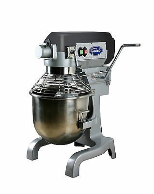 General GEM120 Free-Standing All-Purpose Mixer w/20-Quart Stainless S  Bowl RFB