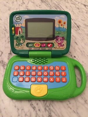 Christmas Gift Age 3+: LeapFrog My Own Laptop, Green VGC