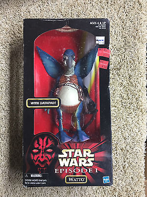 Star Wars Episode 1 Phantom Menace WATTO WITH DATAPOD ACTION FIGURE