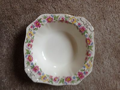 Vintage pretty Alfred Meakin Square Bowl  Very Good Condition