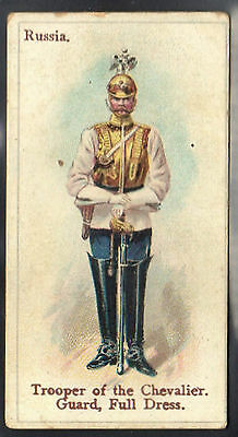 WILLS - Soldiers & Sailors (Blue Back) - Russia - Trooper of the Chevalier Guard