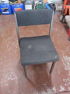 Industrial Metal Frame Works Office Chair