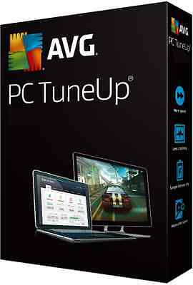 AVG PC TuneUp ® 2016 product key 3 PC MAC Laptop for 2 years Delivery within 24H