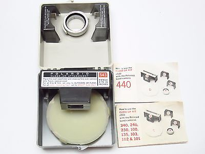 POLAROID CLOSE UP KIT #543 (583) FOR MODELS 100, 240 & more -9 TO 15 INCH RANGE