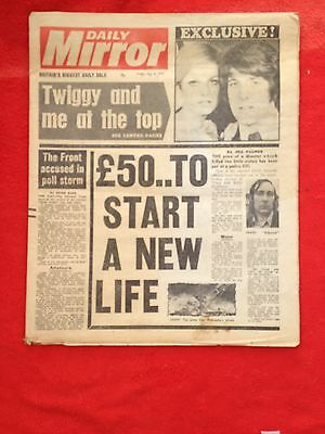 Daily Mirror newspaper 6th May 1977 Page 3 Jane Connors