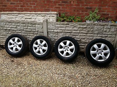 Genuine Vw Transporter T5 Alloy Wheels And Tyres