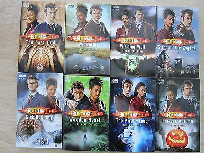 BBC Dr Doctor who paperback books Lot of 8 books Very Good