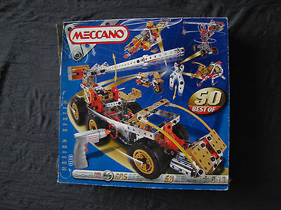 Meccano Motion System Power Tool Best of 50
