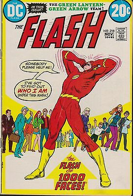 Old DC Comic The Flash #218