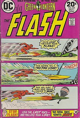 Old DC Comic The Flash #223