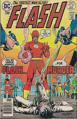 Old DC Comic The Flash #246
