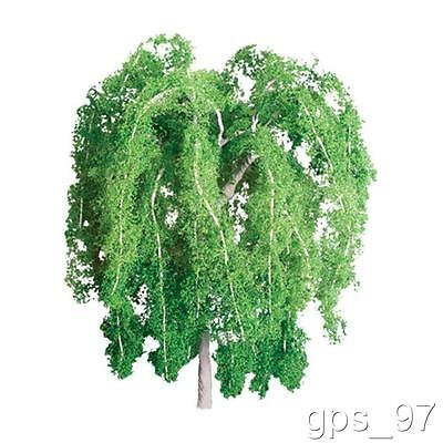 "Z - JTT TR-1066 Scenic Weeping Willow Trees 1"" tall (Pack of 4 Pieces) - NIB"