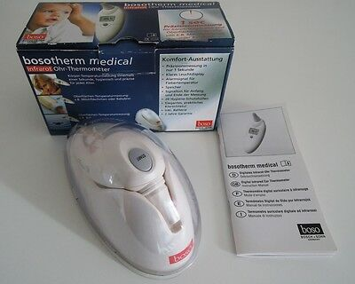 bosotherm medical Infrarot Ohr-Thermometer Fieberthermometer Bosch + Sohn