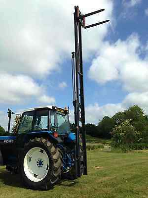 Tractor Mounted Forklift 3 Point Linkage