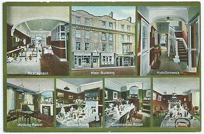 "Vintage Postcard. Hotel Card.""Roles' Hotel,Oxford Street,Southampton."" Ref:6.475"