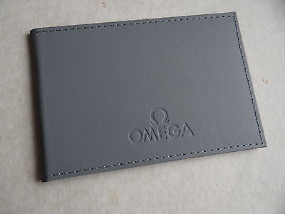 New Old Stock Grey Omega Card Holder