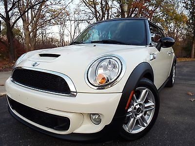 2013 Mini Cooper Coupe S Coupe 2-Door 2013 MINI COOPER S SPORT/TURBOCHARGED/LEATHER/NO RESERVE/LOW MILES/42K SPR CLEAN