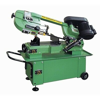 "1 HP 7"" x 12"" Professional Hydraulic Feed Metal Cutting Band Saw 45°/90° Cutting"
