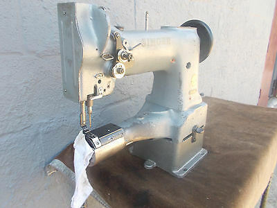Industrial Sewing Machine Model Singer 153-102 needle feed ,cylinder- Leather