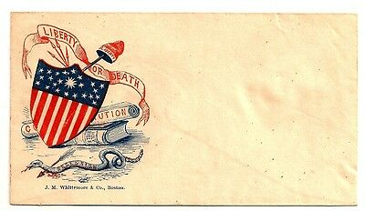 CIVIL WAR PATRIOTIC Cover LIBERTY OR DEATH *** CHECK OUT OUR EBAY STORE :)
