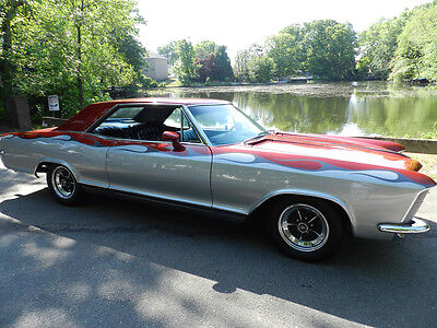 1965 Buick Riviera  1965 BUICK RIVIERA COUPE CLAM SHELL 401 RESTORED FLAWLESS MINT SHAVED HANDLES