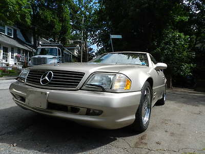 2001 Mercedes-Benz SL-Class  2OO1 MB SL500 SPORT RARE COLOR 38K MILES 2 OWNER MINT GARAGED NEW RUBBER FAST