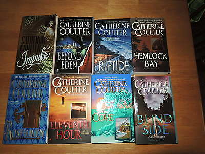 Catherine Coulter 15 paperback books