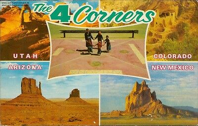 Greetings from 4 Corners - Arches-National Monument Utah, Mesa Verde-National...