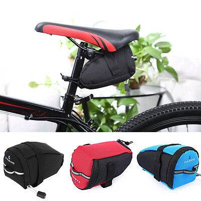 Durable Bike Bicycle MTB Cycling Saddle Tail Rear Pannier Pouch Seat Storage Bag