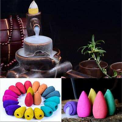 Natural 9 Type Aroma Bullet Tower Incense Fragrance Buddhism Backflow Cone